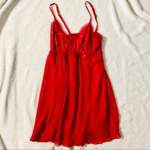 NWT Soma Chemise in Ruby Red